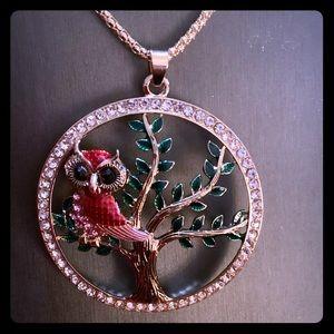 Owl Necklace Betsey Johnson